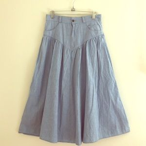 Vintage gather skirts size SM